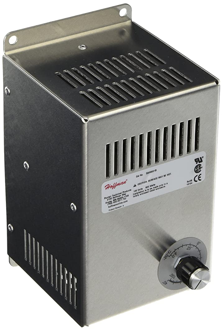 Hoffman DAH8001B Electric Heater, Aluminum, 800W, 115V, 50/60 Hz