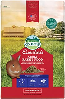 Oxbow Essentials Rabbit Food - All Natural Rabbit Pellets for Adults & Young Rabbits