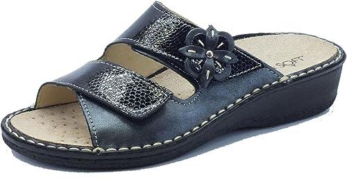 Cinzia Soft  Im2812m noir, Sandales pour femme