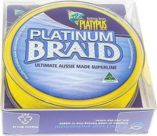 Platypus Platinum Fishing Braid (Yellow) - World's Best Since 1898!