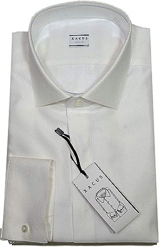 XACUS Chemise Homme Modèle Tailor 21105001 Vestibilitaapos Intermédiaire Modèle élégant Taille Cou 42-16,5