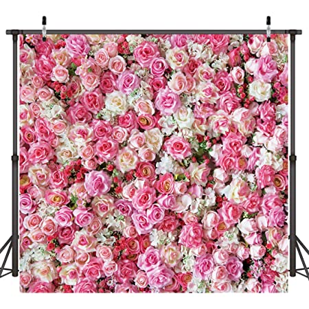 8x8FT Vinyl Photo Backdrops,Garden Art,Pastel Colored Leaves Photo Background for Photo Booth Studio Props