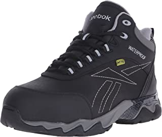 Reebok Work(リーボック) メンズ 男性用 シューズ 靴 ブーツ 安全靴 ワーカーブーツ Beamer - Black 8.5 D - Medium [並行輸入品]