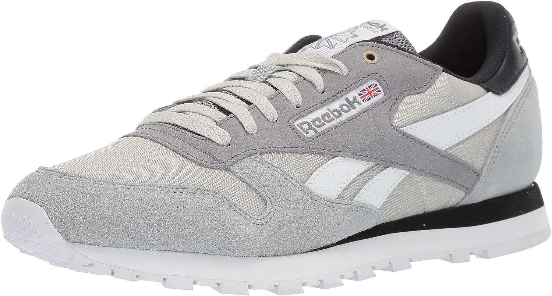 Reebok Mens Classic Leather Sneaker