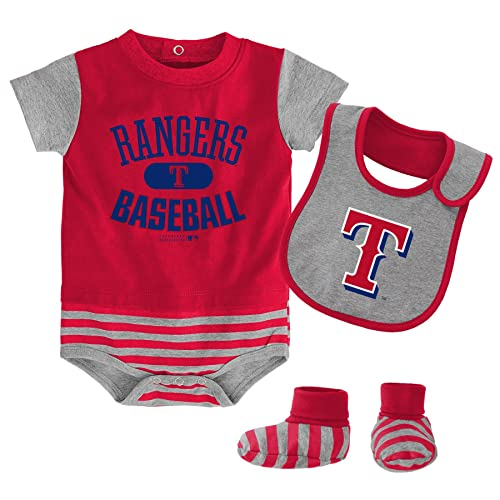 the best attitude c5d7b 7ce2b Texas Rangers Baby Clothes: Amazon.com