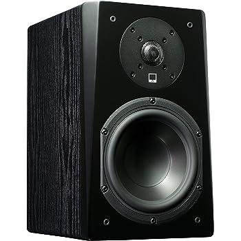 SVS Prime Bookshelf Speaker (Pair) – Premium Black Ash