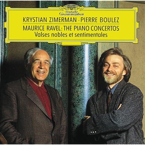 Ravel: Piano Concertos; Valses Nobles Et Sentimentales di Krystian ...