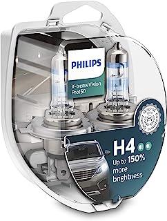Philips X-tremeVision Pro150 H4 Scheinwerferlampe +150%, Doppelset