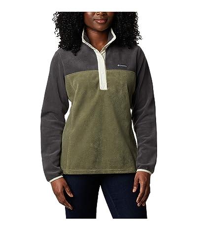 Columbia Benton Springstm 12 Snap Pullover (Shark/Stone Green/Chalk) Women