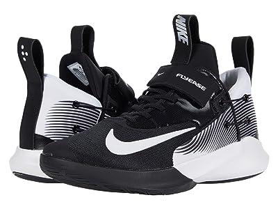 Nike FlyEase Precision IV (Black/White) Men