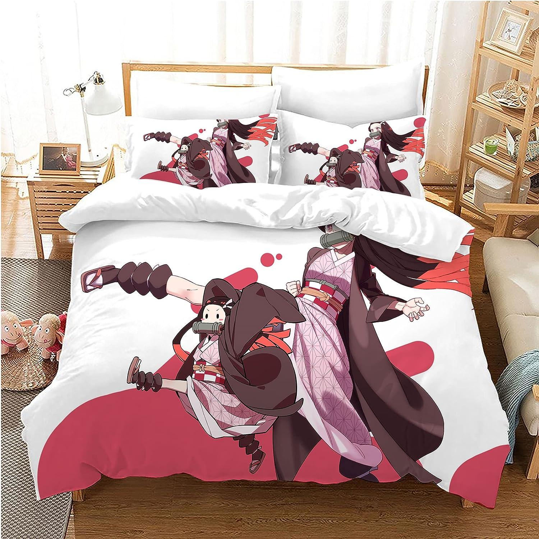 ZGZRXGY supreme Demon Challenge the lowest price Slayer Series Anime Bedding Set,Kamado Nezuko,