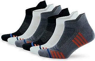 GoWith 6'lı Bambu Renkli Spor Desenli Güçlendirilmiş Yıkamalı Kutulu Dikişsiz Performans Kısa Patik Erkek Çorabı 3150