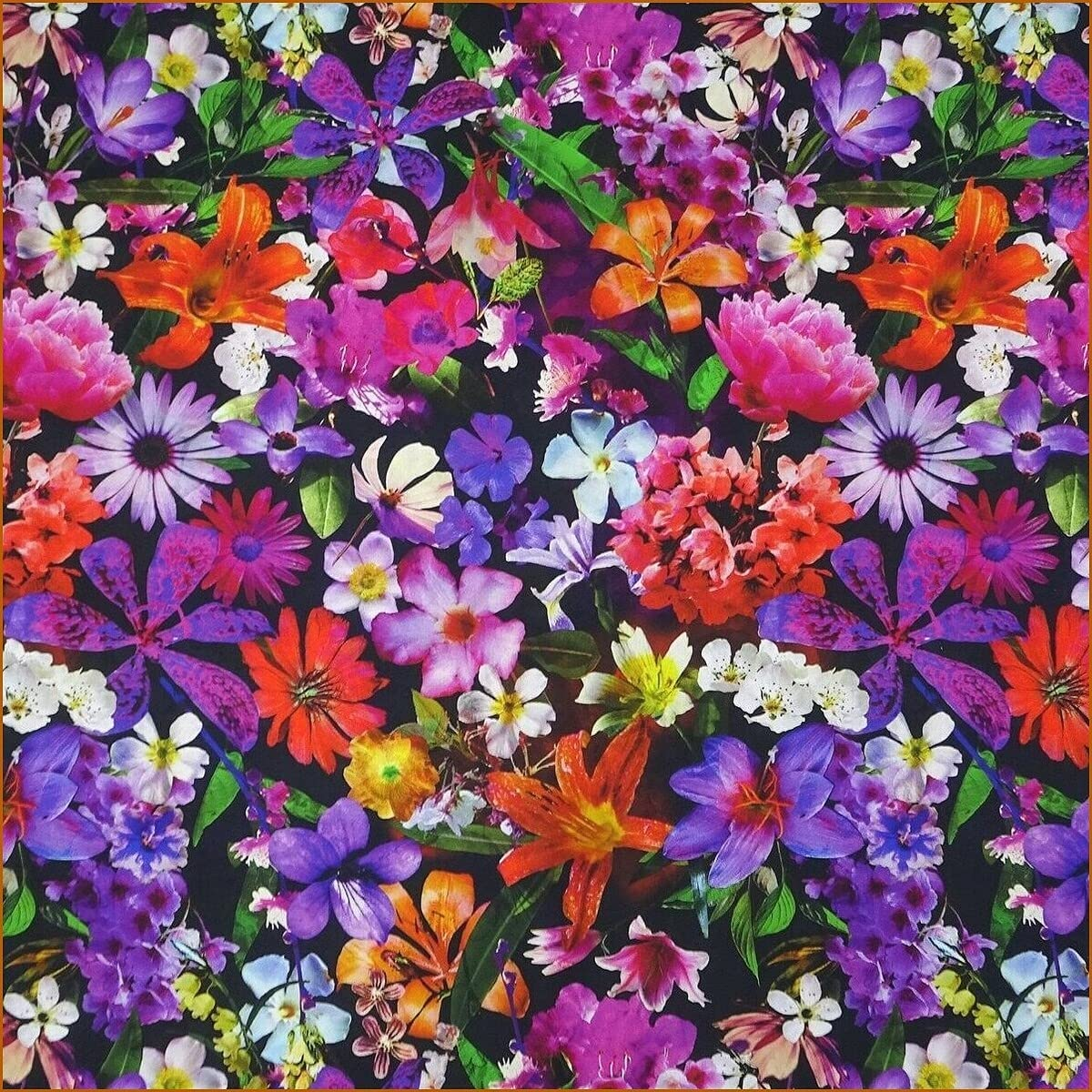 Alina New products world's highest quality popular Natetkova - Floral Fabric Packe Tropical Digital Cheap Flowers