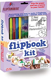 Fliptomania Flipbook Kit - Dinosaurs