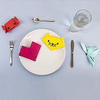 Gift Republic GR450086 Origami Napkins, Medium, Multi
