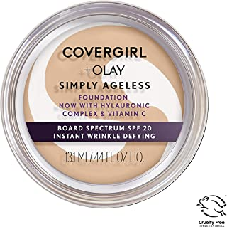 Covergirl & Olay Simply Ageless Instant Wrinkle-Defying Foundation, Buff Beige