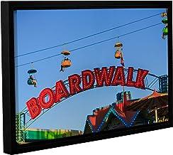 Scott Campbell's Santa Cruz Boardwalk, Gallery Wrapped Floater-Framed canvas 12x18