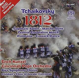 Tchaikovsky 1812 Overture etc. / Kunzel, Cincinnati Pops Multichannel