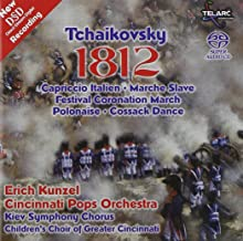 Tchaikovsky 1812 Overture etc. / Kunzel, Cincinnati Pops Multichannel