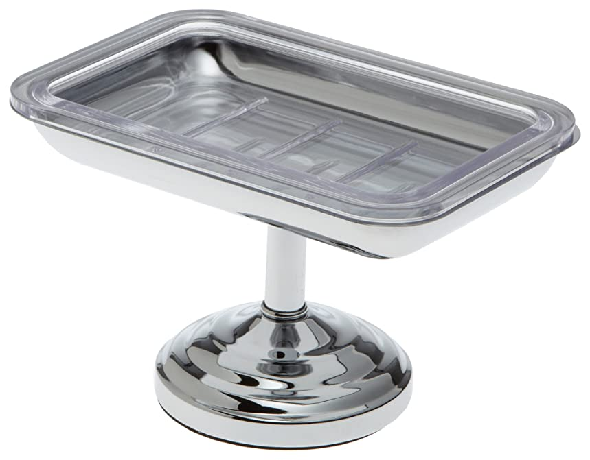 前進息子複合Taymor Pedestal Soap Dish, Chrome by Taymor Industries