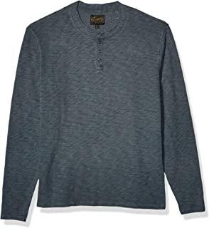 Men's Long Sleeve Snap Henley