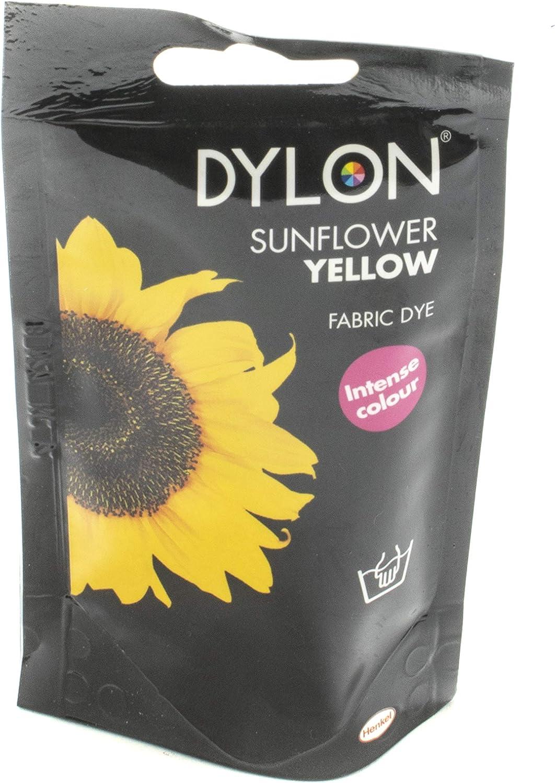 Dylon Tinte para Tela, Amarillo Girasol, 50 g.