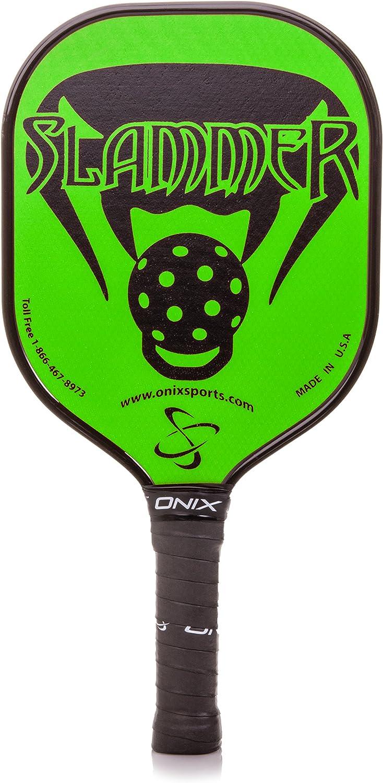 Onix Composite Slammer Pickleball Paddle, Green