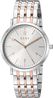 DKNY Womens Quartz Watch, Analog Display and Stainless Steel Strap NY2651