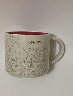 Starbucks You Are Here Holiday 2016 London Ceramic Coffee Mug New with Box