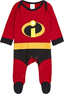 Superhero Costume Fun Pyjamas from Newborn up to 18 Months Footed Sleepsuit for Baby Girl DC Comics Wonder Woman Baby Grow 100/% Cotton Baby Clothes