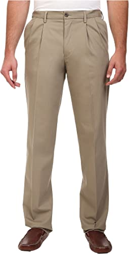 Big & Tall Signature Khaki D3 Classic Fit Pleated