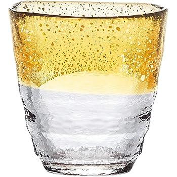 東洋佐々木ガラス 焼酎グラス 和がらす温 お湯わり焼酎ぐらす ゴールド 日本製 300ml 42130TS-G-WGAB