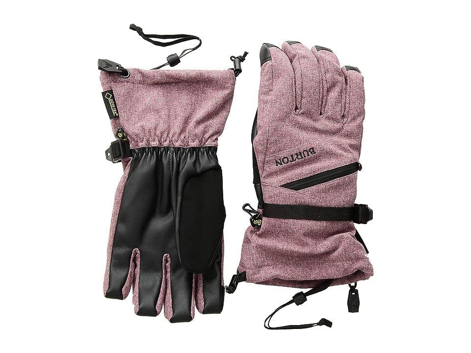 Burton WMS GORE-TEX(r) Glove (Port Royal Heather) Snowboard Gloves