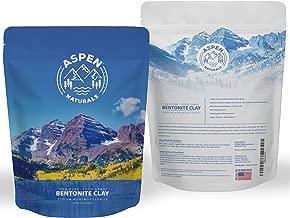 Food Grade Sodium Bentonite Clay - 3 LB Bentonite Montmorillonite Powder - Safe to Ingest for The Ultimate Internal Detox or Make a Clay Face Mask for The Best Natural Skin Healing Powder