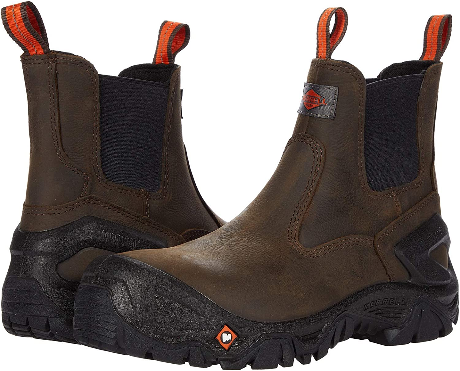 Merrell Challenge the lowest price of Japan ☆ Strongfield Leather CT Chelsea Columbus Mall