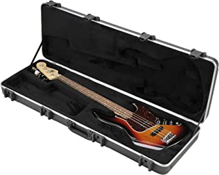 SKB 44 Pro Rectangular Hardshell Jazz/Precision Style Electric Bass Guitar Case (1SKB-44PRO)