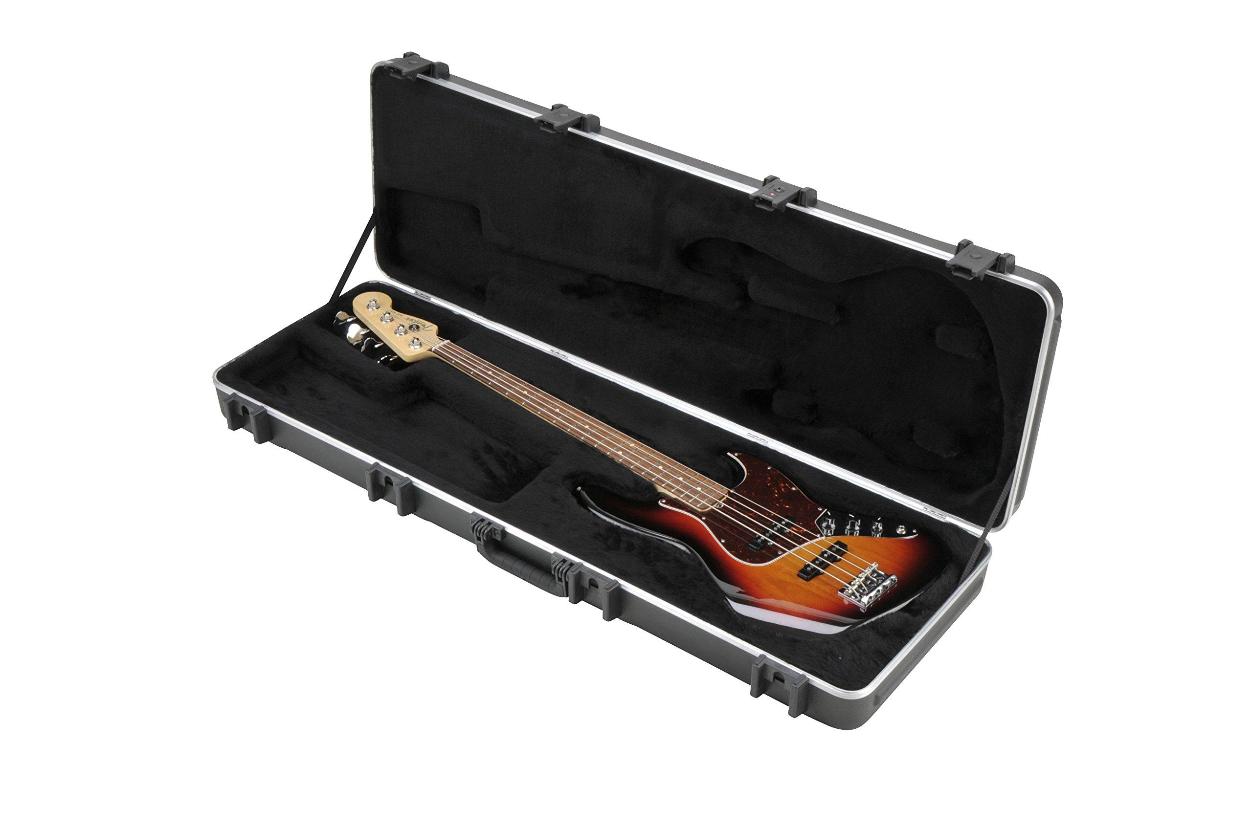 Cheap SKB 44 Pro Rectangular Hardshell Jazz/Precision Style Electric Bass Guitar Case (1SKB-44PRO) Black Friday & Cyber Monday 2019