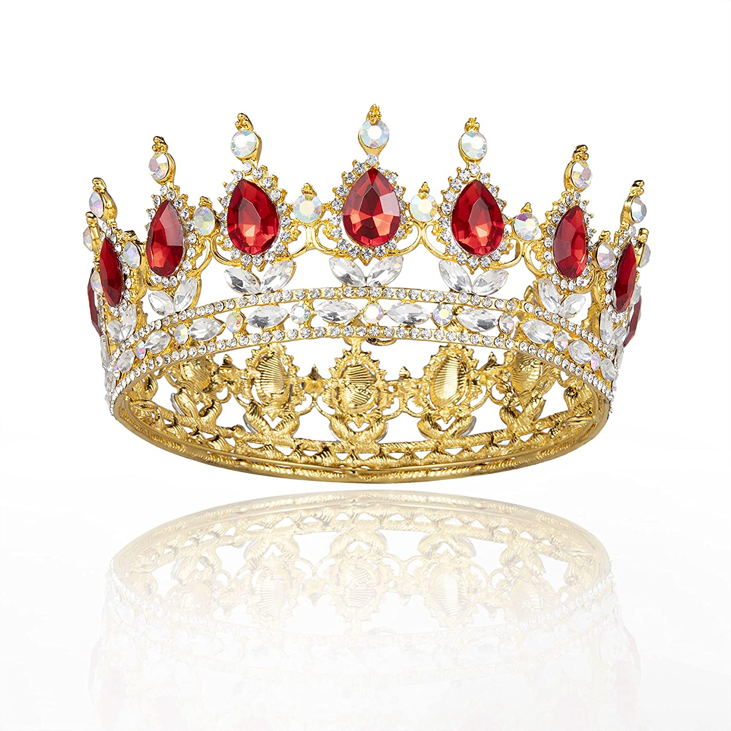 Red Queen National products Crowns for Women Birthday Girls Brand Cheap Sale Venue Tiara Fairy