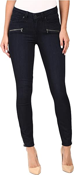 Jane Zip Ultra Skinny in Abrielle No Whiskers