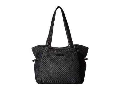 Vera Bradley Iconic Glenna Satchel (Denim Navy) Bags