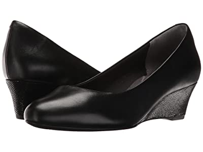Rockport Total Motion Catrin (Black Leather) Women