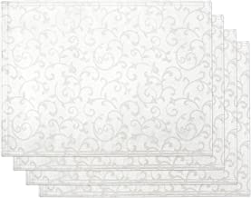 Lenox Opal Innocence Set of 4 Placemats, White