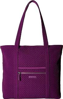 Vera Bradley Iconic Vera Tote Gloxinia Purple One Size