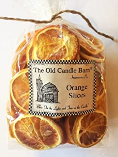 Old Candle Barn Dried Orange Slices for Crafting, Potpourri, or Decorative Bowl Filler - Large 4 Cup Bag