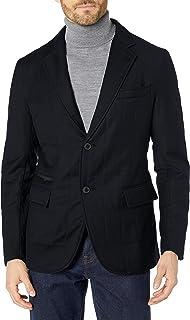 BUGATCHI chamarra de lana acolchada para hombre