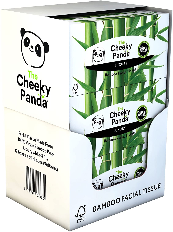 The Cheeky Panda – Bamboo Facial P Box Bulk 12 Minneapolis Mall of Max 79% OFF Tissues