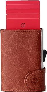 wallet/cardholder coinpocket Cognac