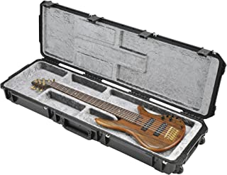 SKB Injection Molded Electric Bass Case, Open Interior, TSA Latches, with Wheels (3i-5014-OP)