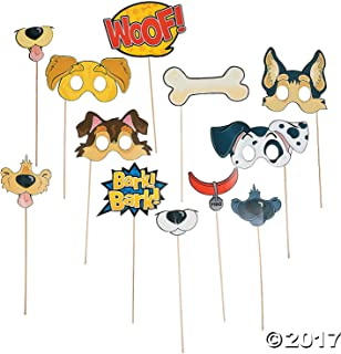 Fun Express SG_B01BVXAJLY_US Puppy Party Photo Props, 14'', Multicolor