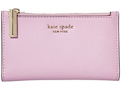 Kate Spade New York Sylvia Small Slim Bifold Wallet (Orchid) Cosmetic Case